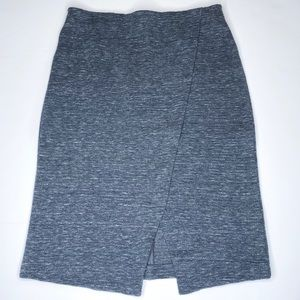 NWT✨ Ann Taylor LOFT Heather Gray Pencil Skirt S
